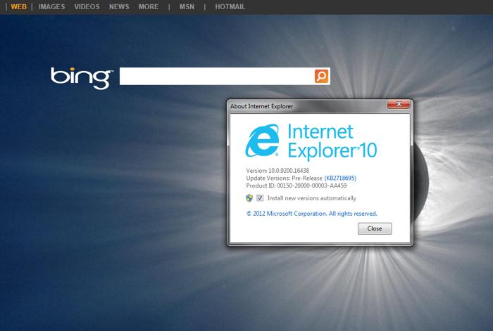 Internet Explorer 8, 9 And 10 Support To End Next Week