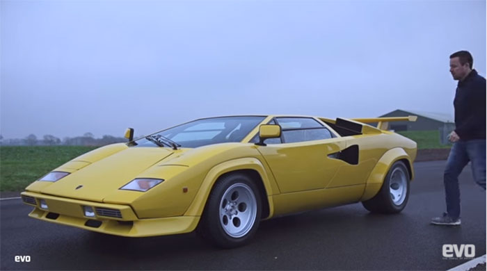 Evo Gets Hands on with a Lamborghini Countach