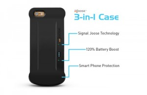 mJoose Smartphone Battery Case Also Improves Your Signal (video)