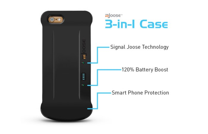 mJoose Smartphone Battery Case
