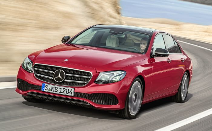 Mercedes-Benz E-Class Photo Gallery
