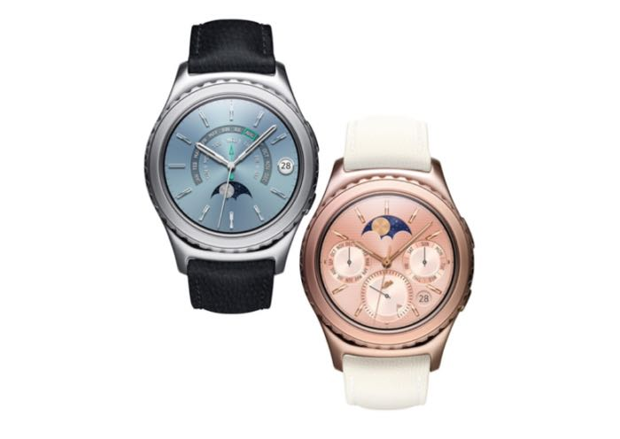 Samsung Gear S2 Classic Now Comes In 18K Rose Gold And Platinum