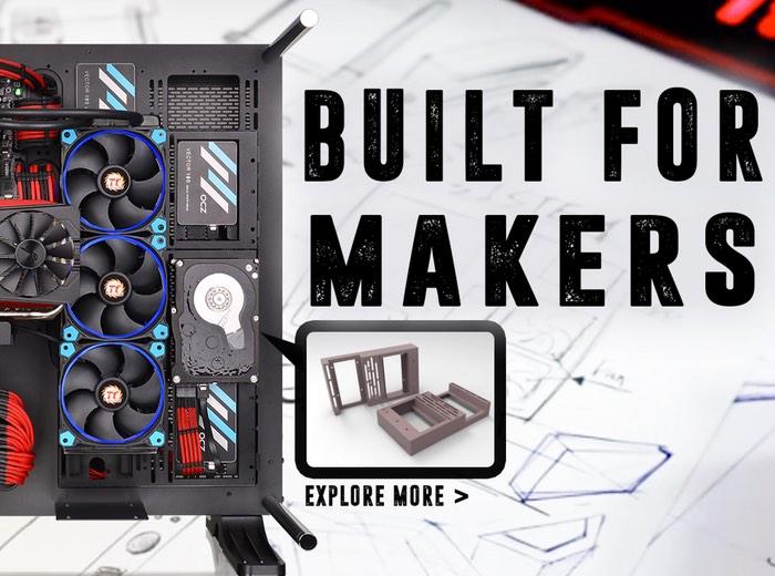 3D Printable PC Components