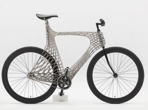 Stainless Steel 3D Printed Bike Created By Dutch Students (video)