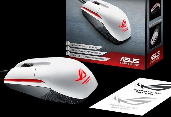 ASUS Announces ROG Sica White Gaming Mouse