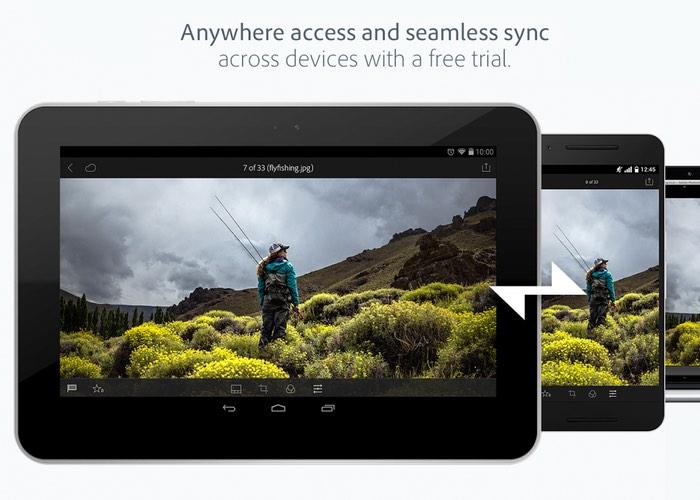 Adobe Lightroom 2.0 Android