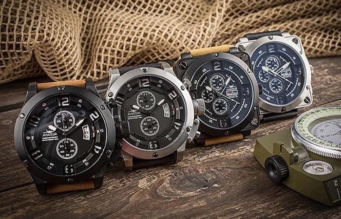 Aviateur's Flyback Chronograph Pilot Watch-1