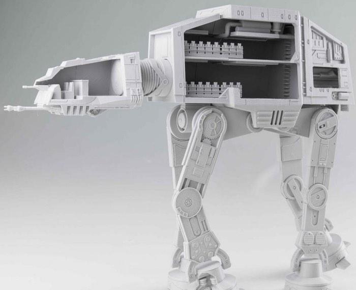 3D Printed Star Wars AT-AT
