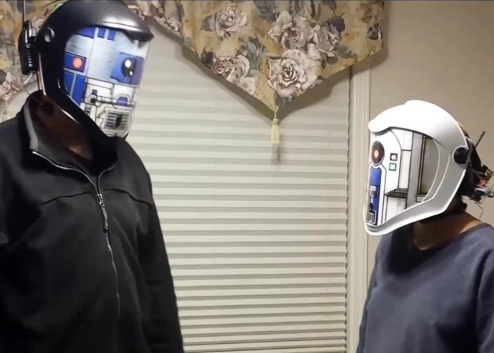 Awesome DIY Star Wars Helmets Translate Your Voice To Droid In Real Time (video) - Geeky Gadgets