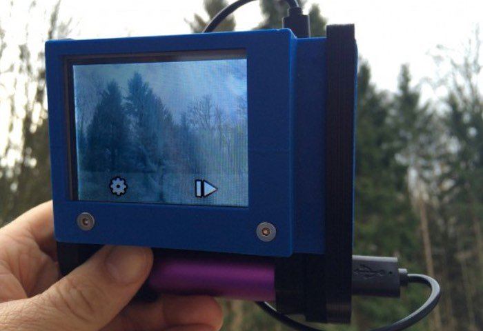 DIY Raspberry Pi Infrared Camera