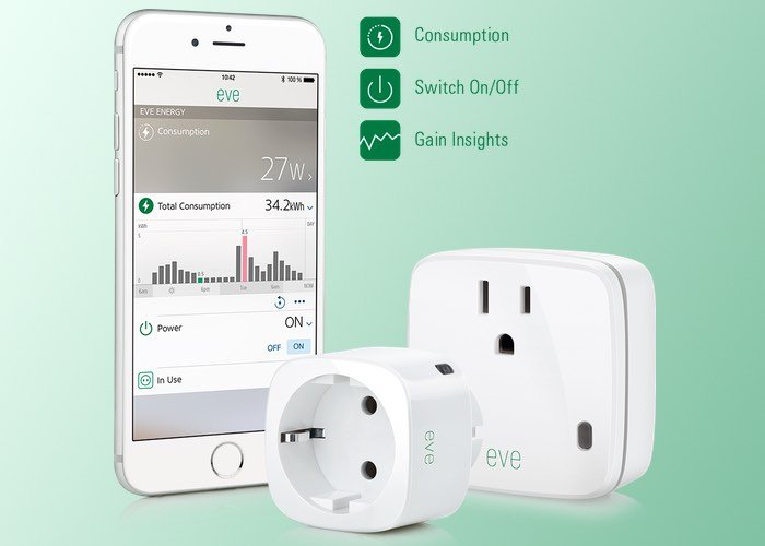 Elgato Eve Energy Smart Plug Supports Apple Homekit