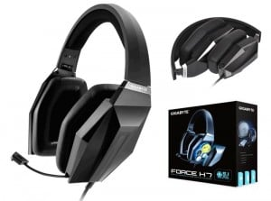 Gigabyte Force H7 and H5 Pro Gaming Headsets Unveiled