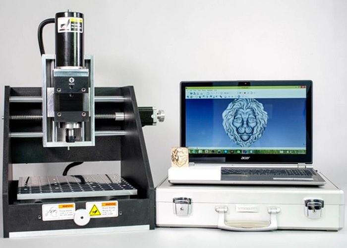 Honing H312 Desktop CNC Milling Machine