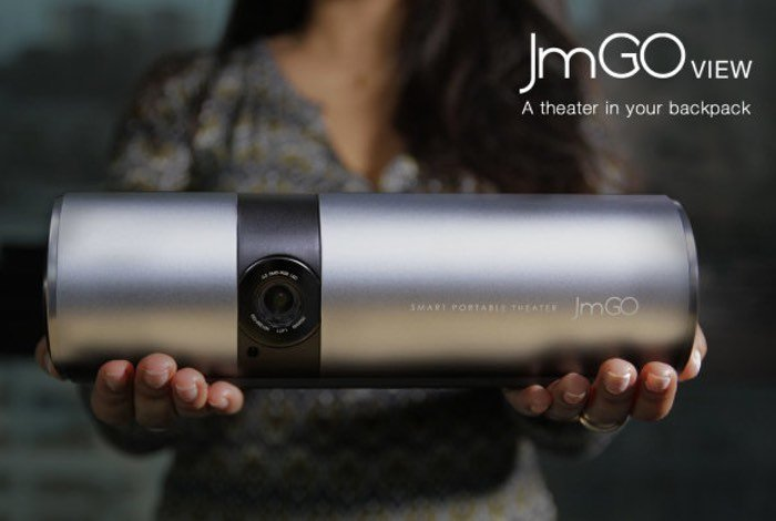 JmGO View Smartphone Controlled Portable Projector