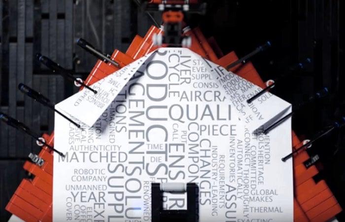 Lego Robotic Paper Plane