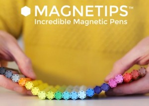 MAGNETIPS Magnetic Colouring Pens (video)
