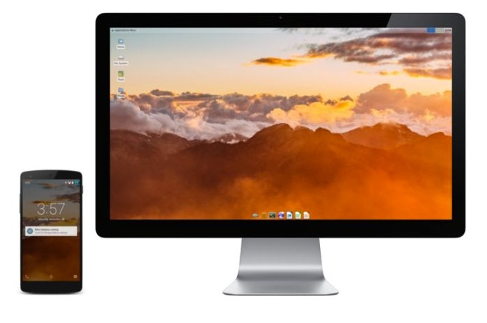 Transform Your Android Smartphone Into A Linux Desktop PC Using MaruOS