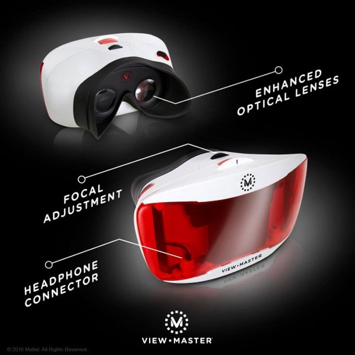 Mattel VR View-Master 2.0 Smartphone Virtual Reality Headset