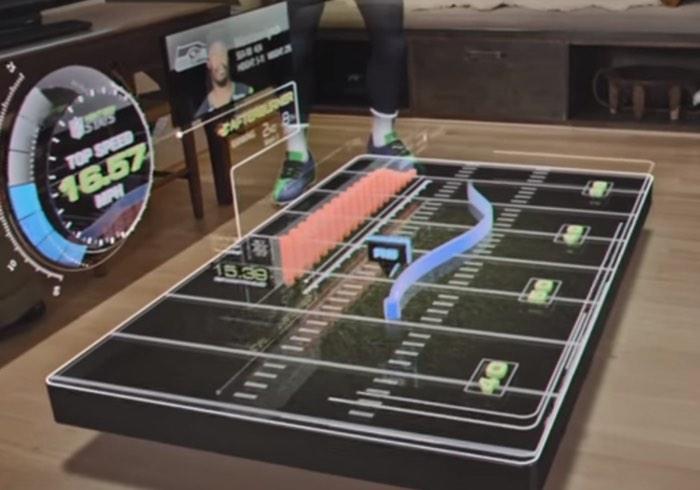 Microsoft HoloLens NFL