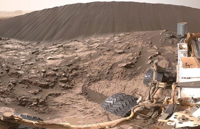 NASA Mars 360 Degree Image