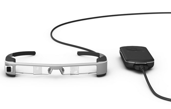New Epson Moverio Augmented Reality Glasses