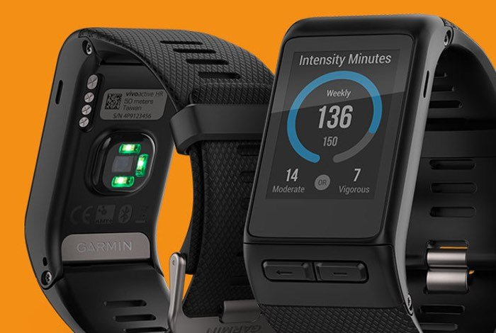 New Garmin Vivoactive HR Fitness Tracker
