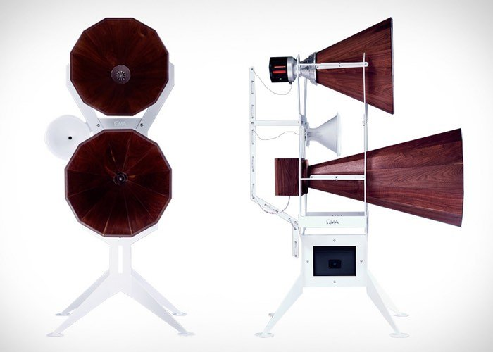 oma imperia speakers now available for 280 000 geeky. Black Bedroom Furniture Sets. Home Design Ideas