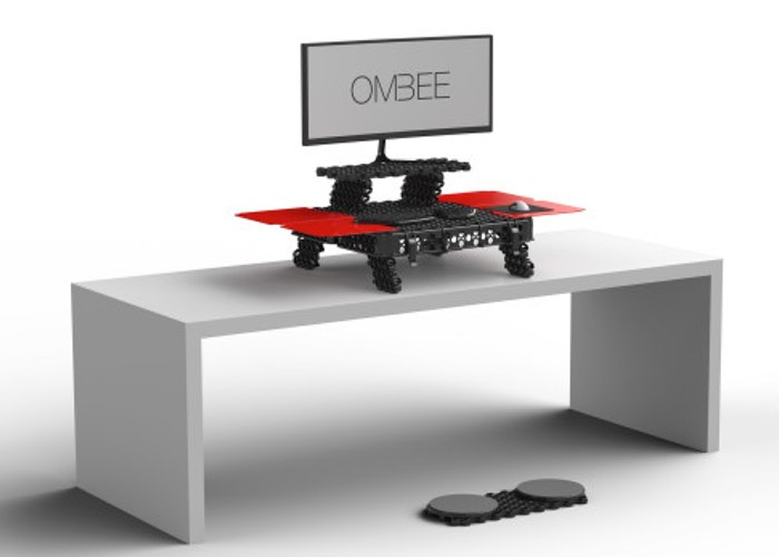 OMBEE Portable Modular Stand Up Desk