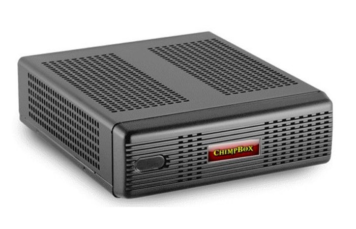 PCLinuxOS ChimpBox Fanless Desktop Mini PC