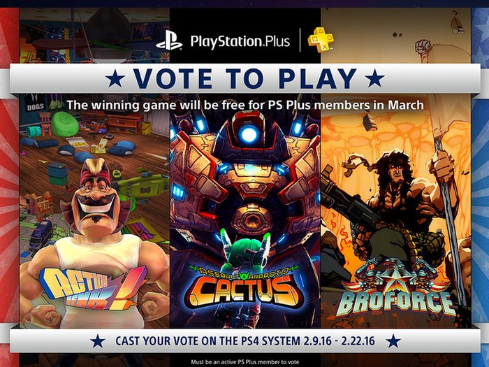 PS Vote to Play March 2016