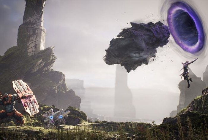 New Paragon Strategy MOBA PlayStation 4 Game Explained (video)