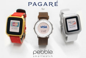 Pebble Smartwatch Contactless Payment Strap Hits Kickstarter (video)