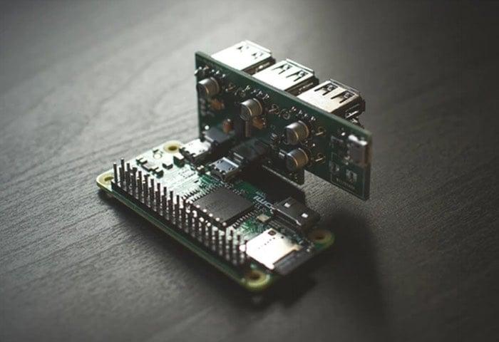 PiAngle Raspberry Pi Zero Module Adds USB Power And 4 Port ...