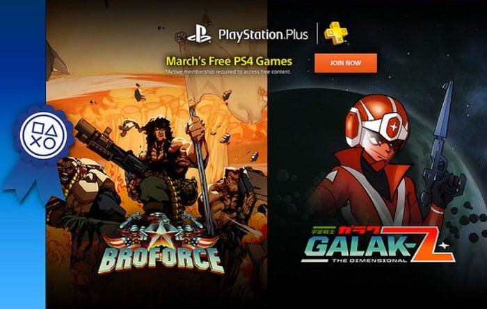 PlayStation Plus March 2016