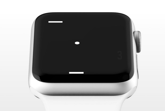 Pong Apple Watch