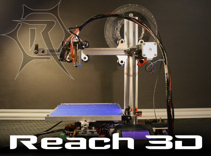 Reach 3D Printer Launches On Kickstarter