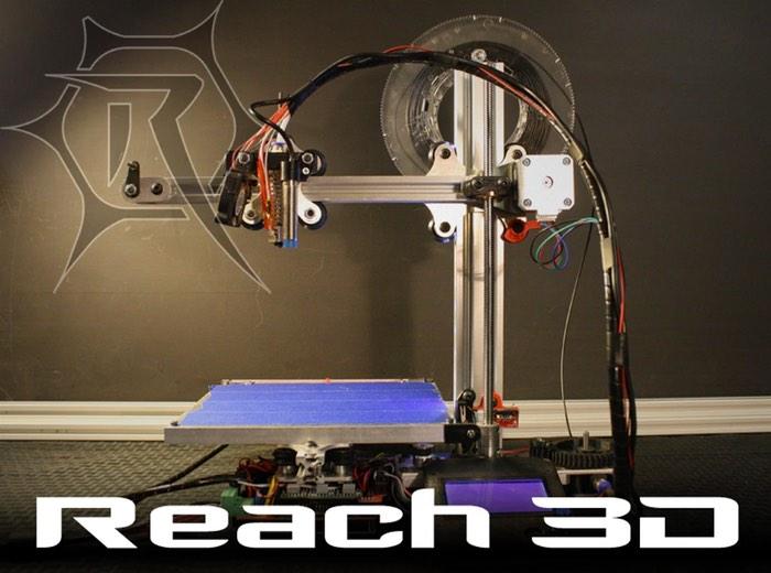 Reach 3D Printer Launches On Kickstarter