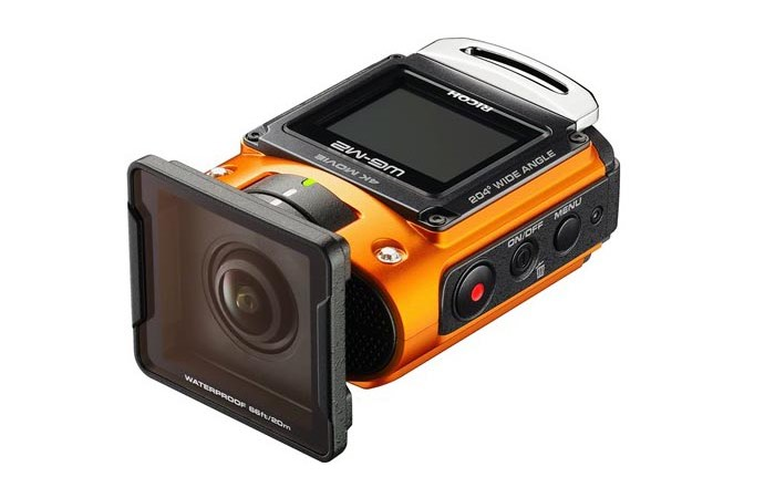 Rugged Ricoh Wg M2 Action Camera