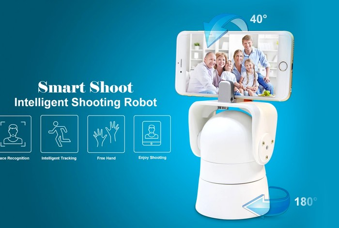 Smart Shoot Smartphone Video Capture Robot (video)