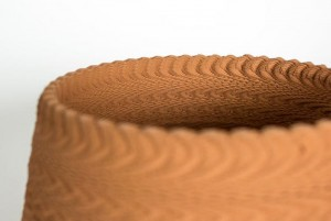 Sound Vibration Ceramic 3D Printing Creates Unique Results (video)