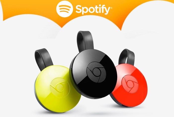 Spotify Offers Free Chromecast