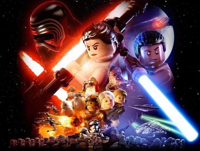 Star Wars The Force Awakens Lego Xbox Game