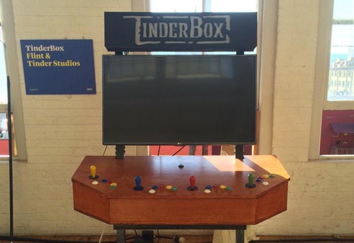 TinderBox Indie game Arcade System