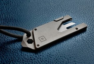 Ultra Low Profile Titanium Pocket Tool (video)