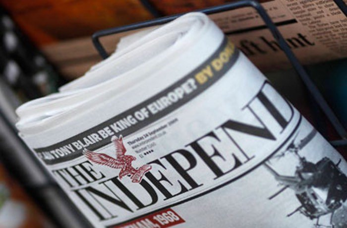 UK Independent Newspaper Drops Print Publications Goes Digital Only