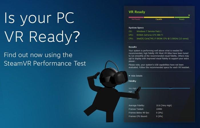 Virtual Reality PC Check