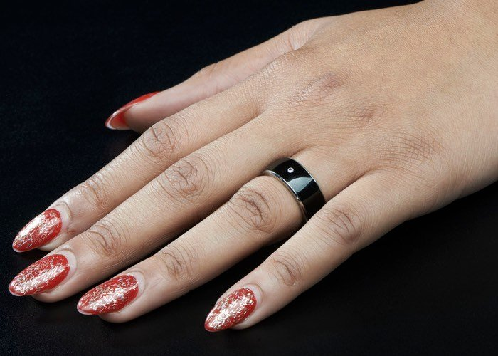 Wearable Smart Rings Supporting RFID And NFC-1