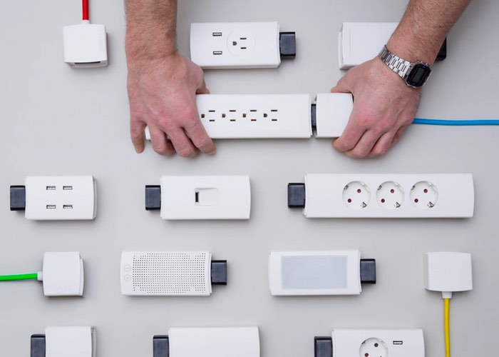 YOUMO Smart Modular Power Strip (video)