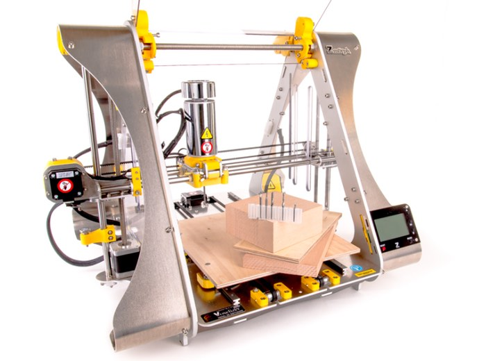 New ZMorph Desktop Combination CNC Milling Machine And 3D Printer Launches