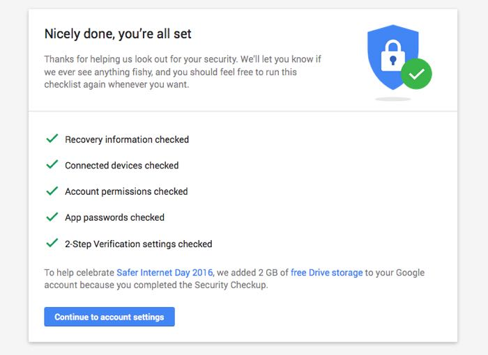 how to change the google drive account